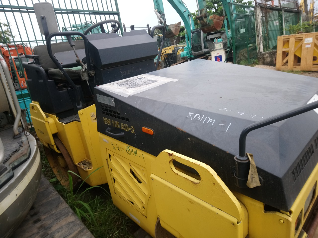 Roller   Compactor Bomag Bw115ad